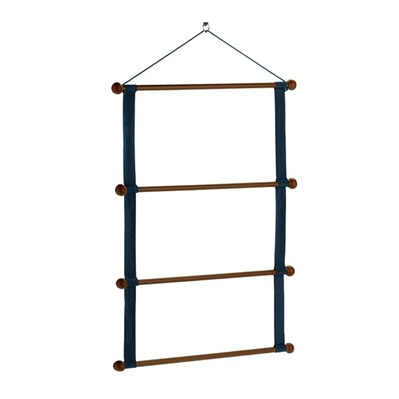 EQUILINE - WOODEN RACK - Support tapis blue