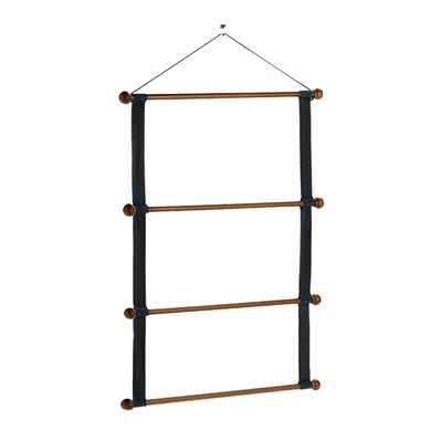 EQUILINE - WOODEN RACK - Support tapis black