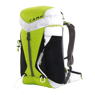 CAMP - CAMPACK X3 BACKDOOR 30L - Sac à dos vert/blanc